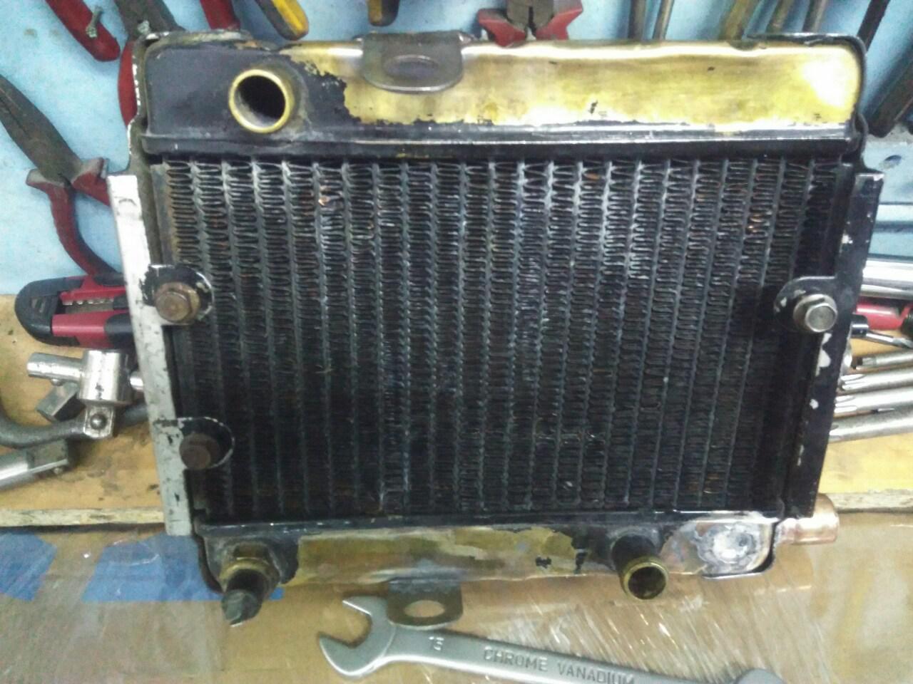 Ремонт алюминиевого радиатора охлаждения двигателя своими руками