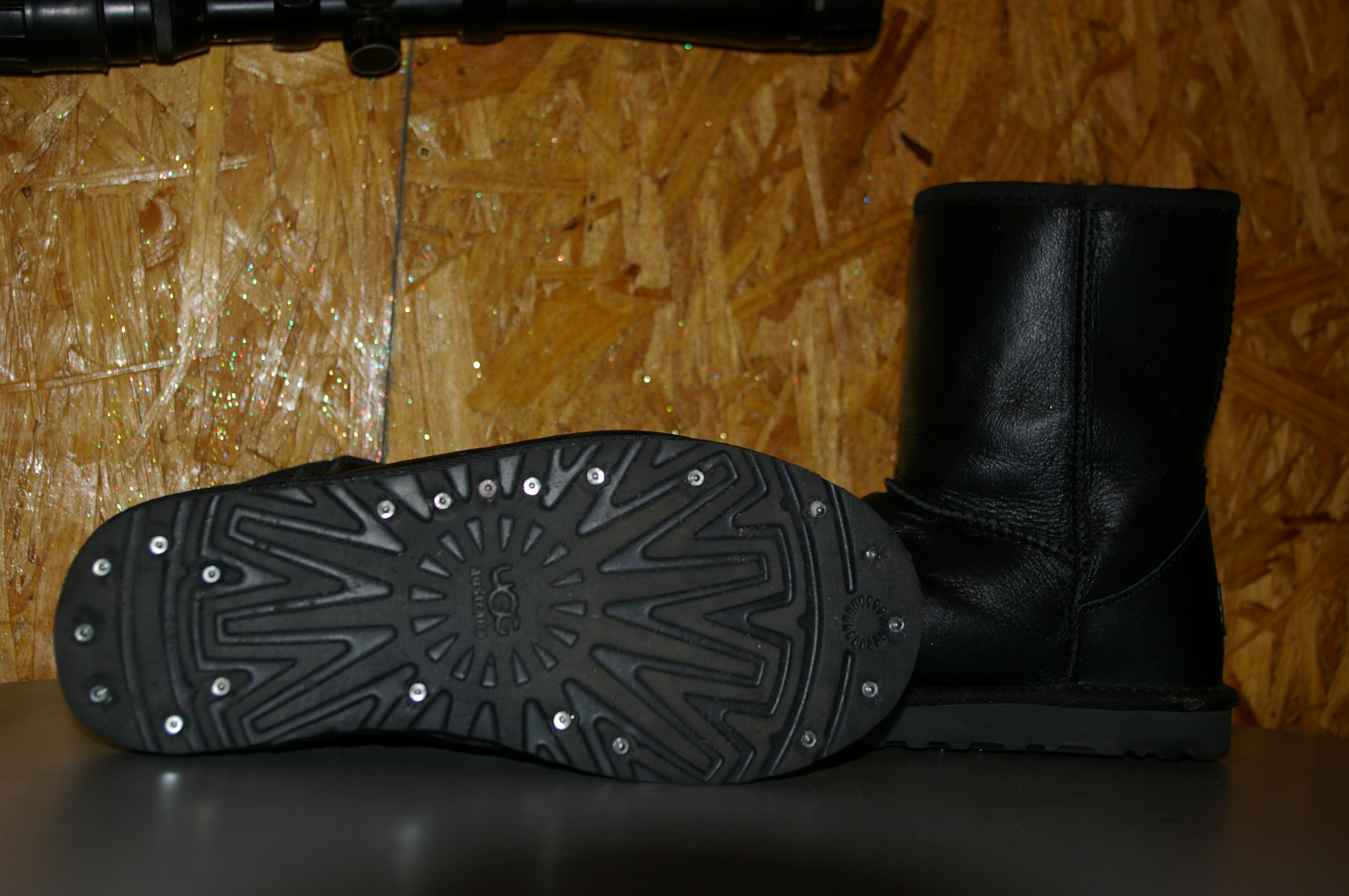 Гололеды на обувь своими руками